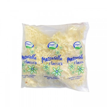 Zuger Mozzarella Shredded Cheese