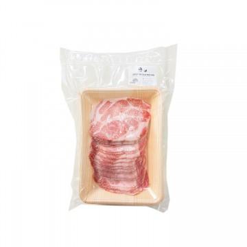Chestnut Pork Collar Shabu - 300g